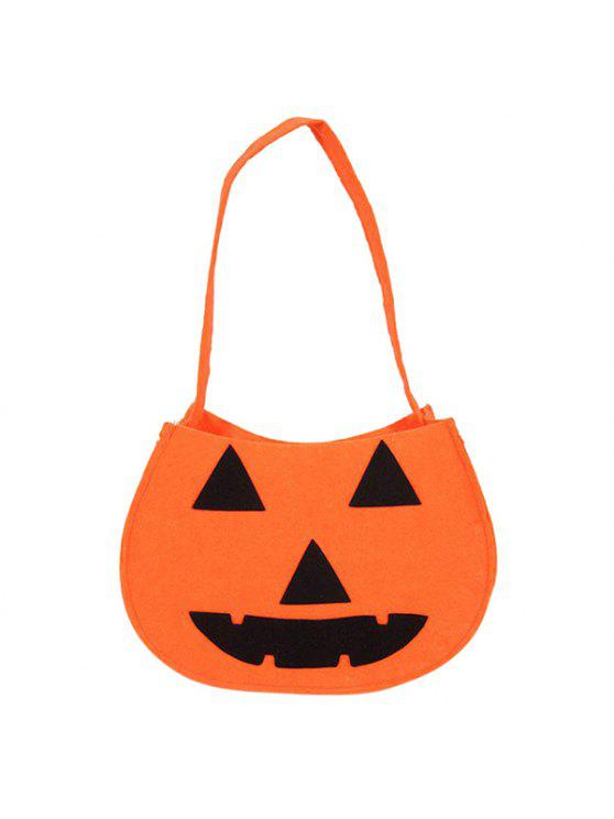 Saco da abóbora de Halloween - Laranja