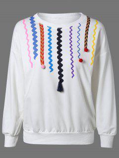 La Camiseta De La Impresión - Blanco