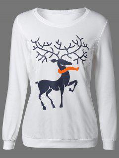 Imprimir La Camiseta Linda - Blanco Xl