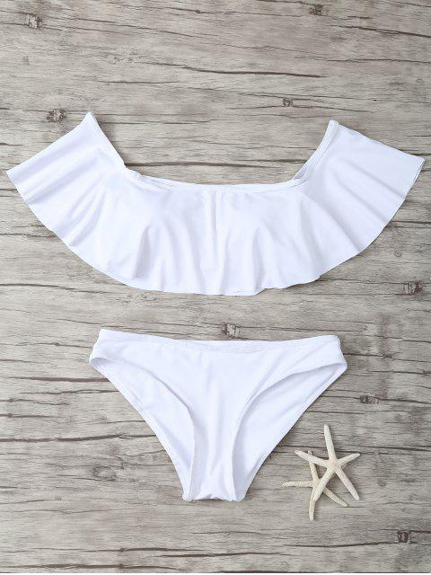 Bikinis maillot de bain dénudé - Blanc S Mobile