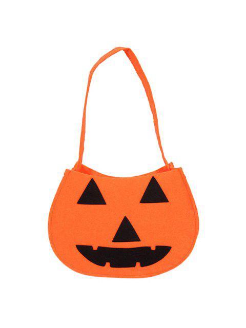 latest Pumpkin Halloween Bag - ORANGE  Mobile