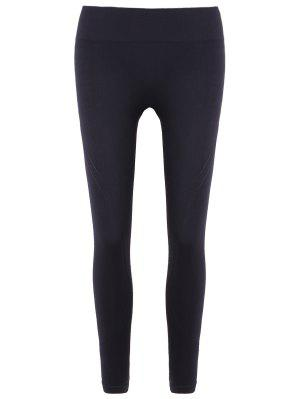 Slim Tighten Waist Ninth Leggings