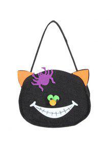 Buy Cat Shaped Halloween Bag BLACK