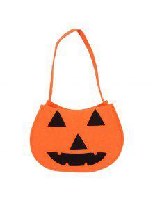 اليقطين هالوين حقيبة - البرتقالي