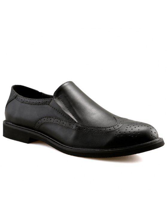 محفور، الانزلاق على الأحذية - أسود 42