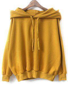 Fleece Hoodie - Yellow