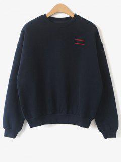Comme Vous Voulez Sweatshirt Amour - Bleu Violet