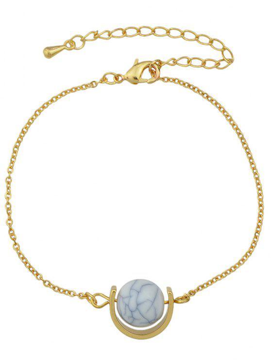 women's Horseshoe Bracelet - GOLDEN