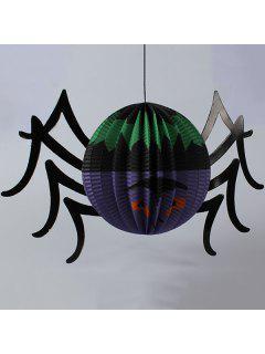 High Quality Spider Paper Lantern Halloween Party Decoration