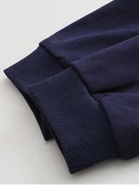 Sweat bloc de couleur à franges - ROSE PÂLE 3XL Mobile