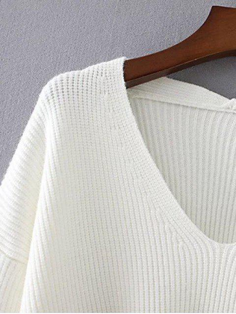 hot Loose String Sweater - COFFEE ONE SIZE Mobile