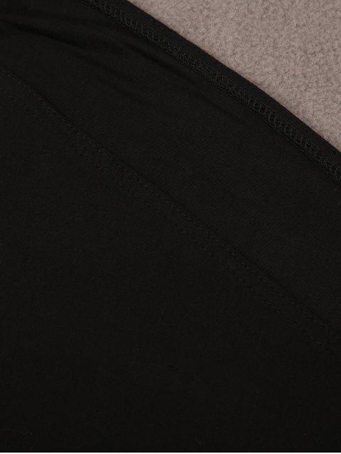 shop Strappy Back Side Slit Jumpsuit - BLACK S Mobile