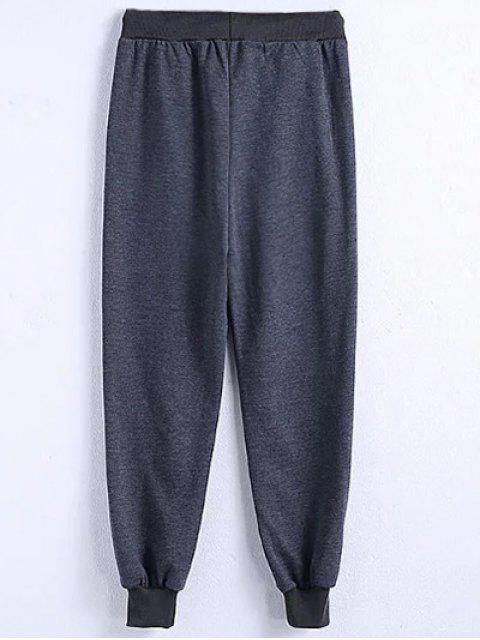 Pantalon Drawstring Jogger - Gris 3XL Mobile