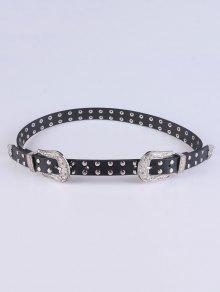 حزام برشام  - أسود
