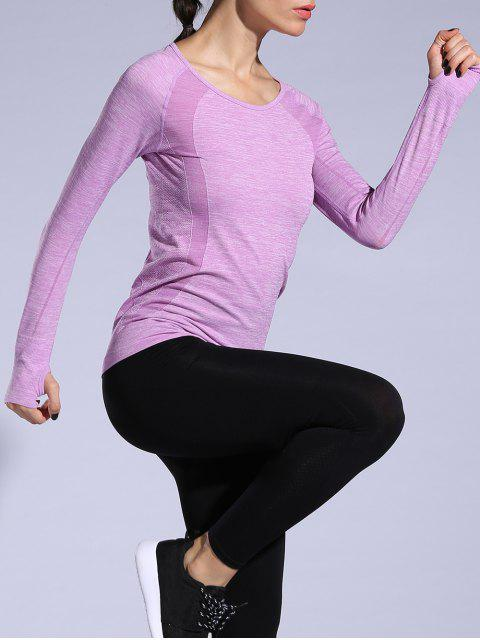 shop Gloved Long Sleeve Quick Dry T-Shirt -   Mobile