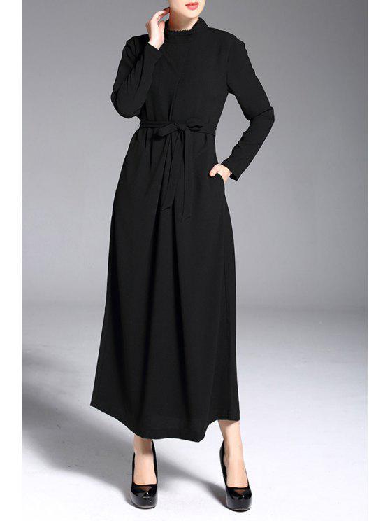 super popular fbfae 50352 Langarm-Maxi-Kleid