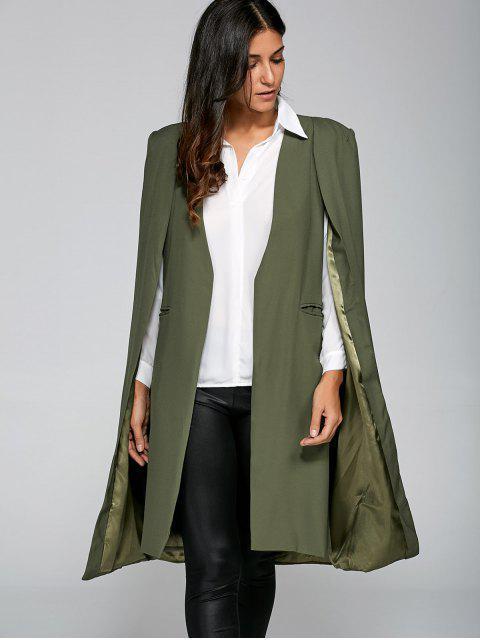 shops Loose Cape Cloak Overcoat -   Mobile