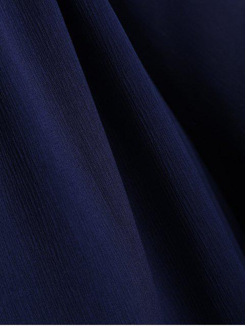 Robe A-ligne découpée - Bleu Cadette S Mobile