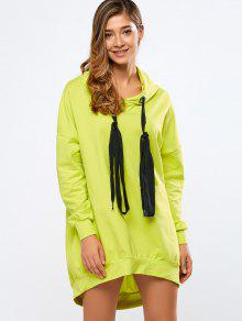 ... Neon Color Long Boyfriend Hoodie ...