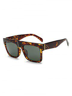 Hawksbill Rectangle Sunglasses - Sage Green