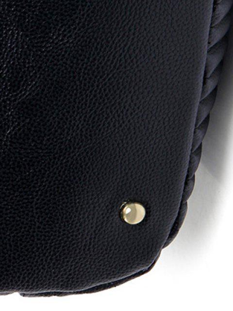 sale Drawstring Magnetic Closure Chain Shoulder Bag - PINK  Mobile
