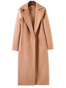 المعطف الطويل مع طية صدر السترة - كاكي M