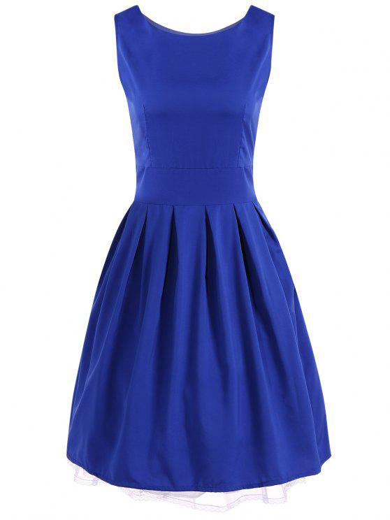 Vintage Ball Gown Swing Dress ROYAL BLUE: Dresses 2018 S   ZAFUL