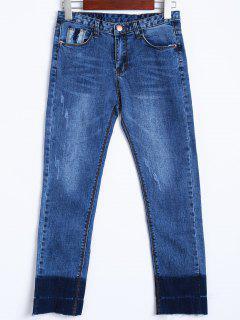 Skinny Scratchy Jeans - Blue S