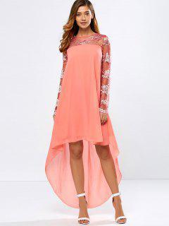 See-Through High Low Dress - Jacinth S