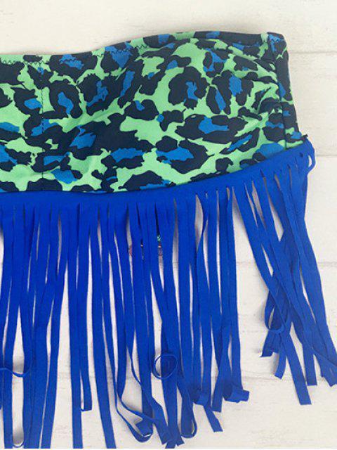 Bikini léopard Frangé - Multicolore M Mobile
