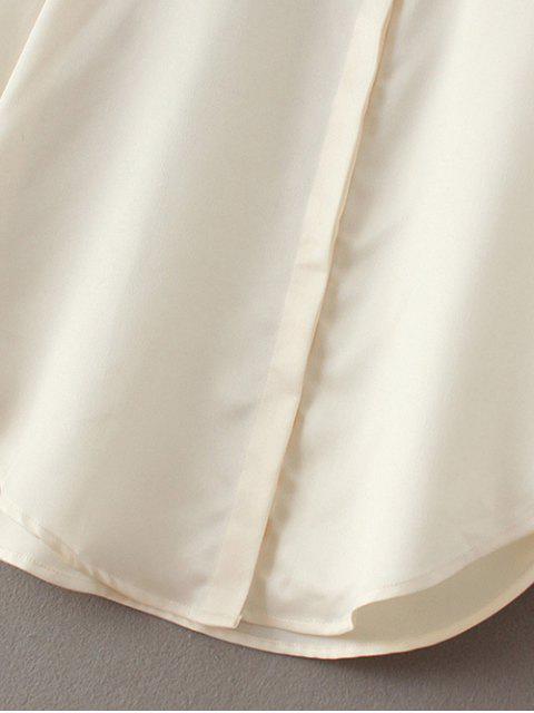 Chemise brodée tigre - Blanc Cassé M Mobile