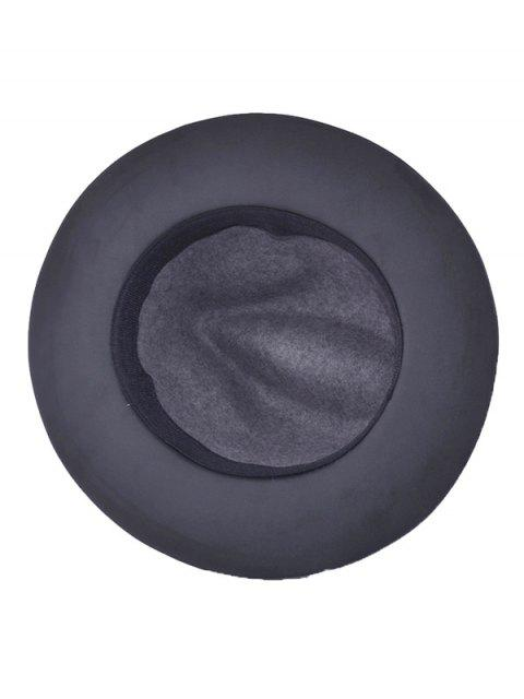 affordable Winter Larger Brimmed Fedora Bowler Hat -   Mobile