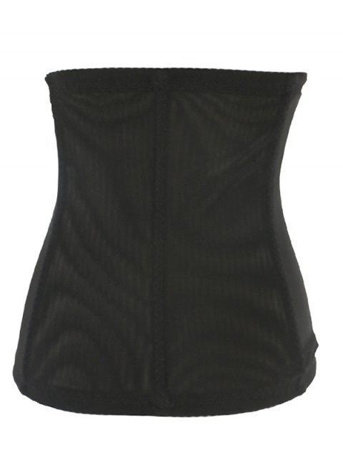 womens Retro Steal Boned Underbust Lace Corset - PURPLE 6XL Mobile