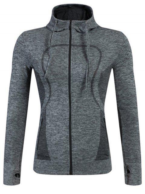 women's Sports Zipper Hoodie -   Mobile