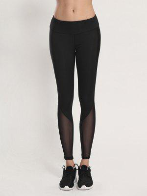Collants  moulants voile de Yoga