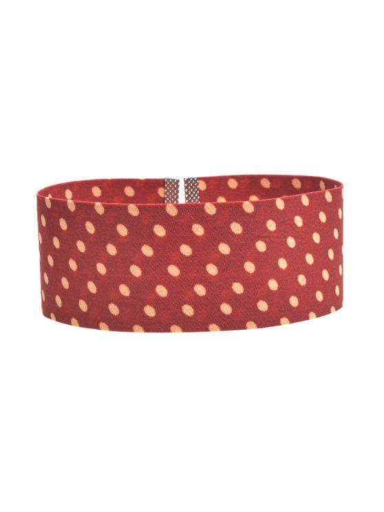 Polka Dot Largo Choker - Laterita