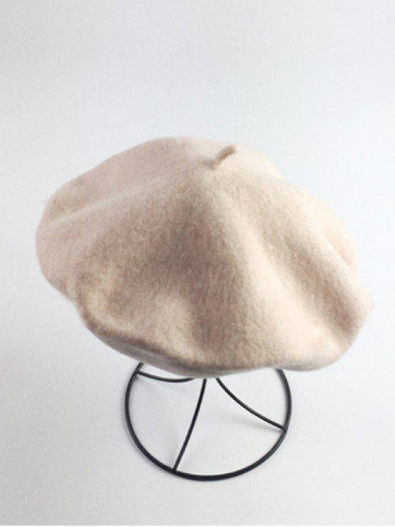ladies Art Painter Felt Beret - BEIGE