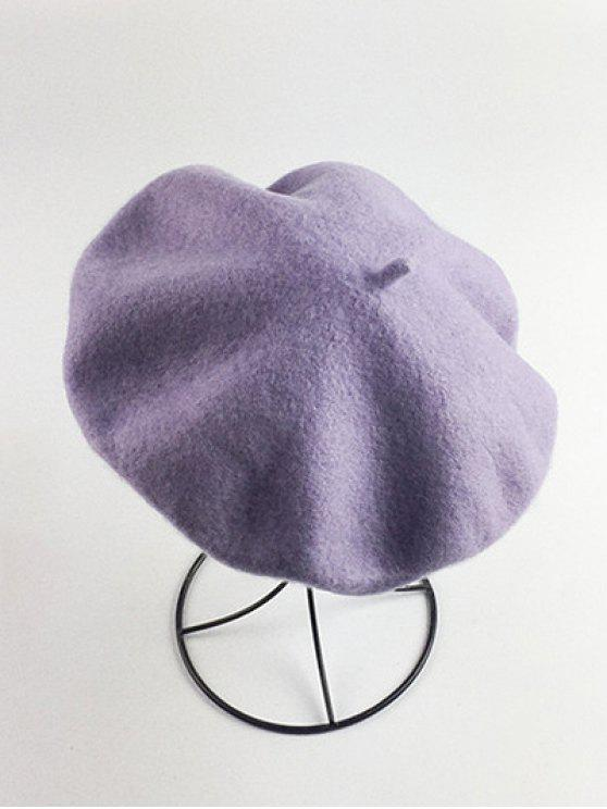 Art Painter Felt Beret - Violeta