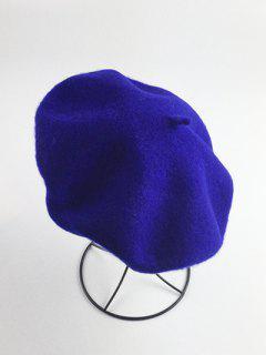 Art Painter Felt Beret - Sapphire Blue