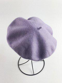 Art Painter Felt Beret - Violet
