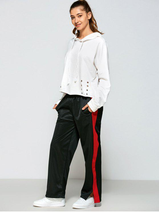 outfit Color Block Furcal Track Pants - BLACK M