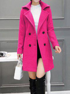 Wool Blend Peacoat Walker - Rose S