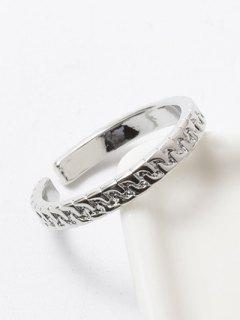 Polished Roman Ring - Silver White