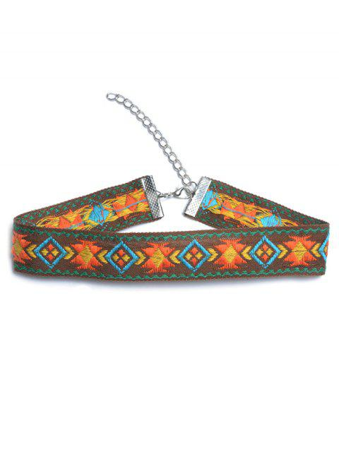 buy Embroidered Choker -   Mobile