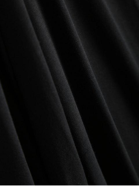 women Colorful Fringes Cardigan - BLACK XL Mobile