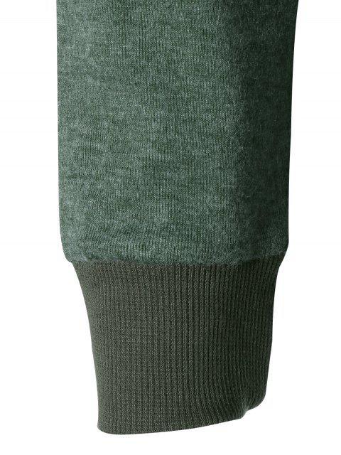 best Asymmetric Knitwear - BLACKISH GREEN S Mobile