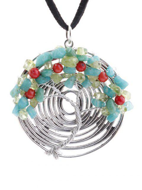 buy Spiral Life Tree Necklace -   Mobile