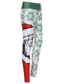 سانتا كلوز 3D مطبوعة اللباس - أحمر و أخضر