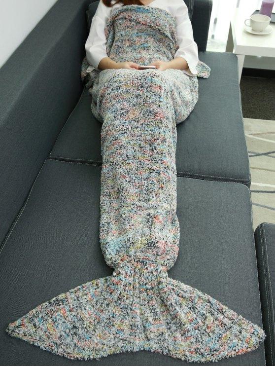 Couverture de sirène enveloppante sac de couchage - Multicolore