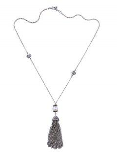 Alliage Vintage Faux Perle Pull Chain -
